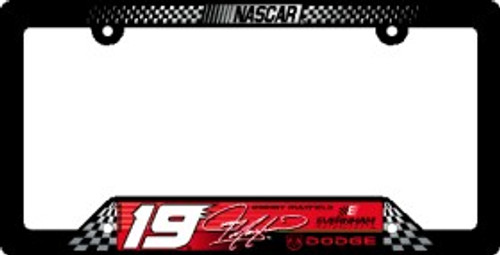 Jeremy Mayfield License Plate Frame
