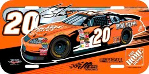 Tony Stewart License Plate Plastic Special Order