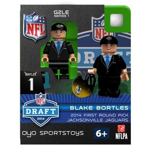 Jacksonville Jaguars Figurine 2014 Draft Pick OYO Sportstoys Blake Bortles