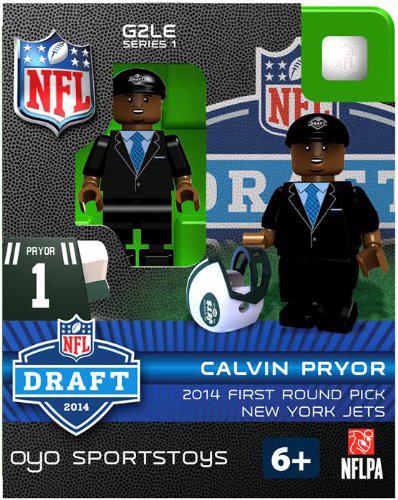 New York Jets Figurine 2014 Draft Pick OYO Sportstoys Calvin Pryor