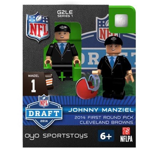 Cleveland Browns Figurine 2014 Draft Pick OYO Sportstoys Johnny Manziel
