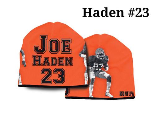 Cleveland Browns Beanie Lightweight Joe Haden Design