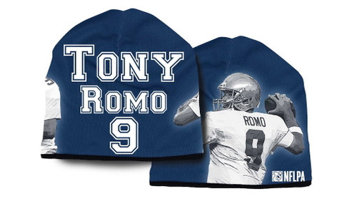 Dallas Cowboys Beanie Heavyweight Tony Romo Design