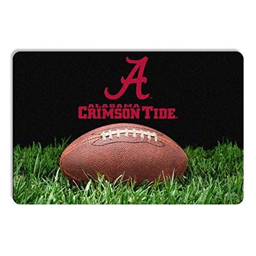 Alabama Crimson Tide Classic  Football Pet Bowl Mat - L - Special Order