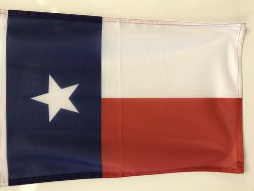 State of Texas Flag 12x18 Garden Style