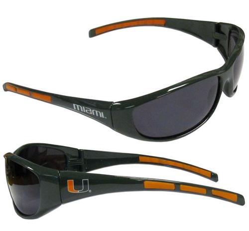 Miami Hurricanes Sunglasses - Wrap