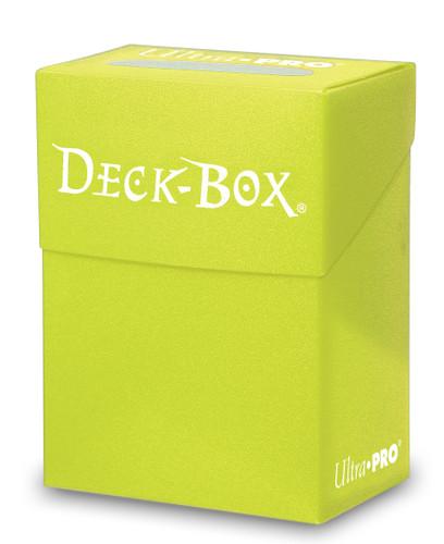 Deck Box  - Bright Yellow