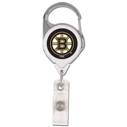 Boston Bruins Badge Holder Premium Retractable