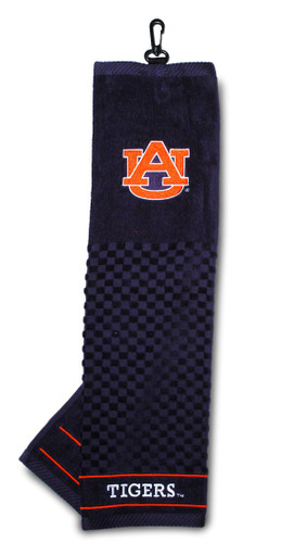 Auburn Tigers Golf Towel 16x22 Embroidered