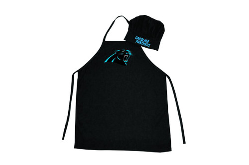 Carolina Panthers Apron and Chef Hat Set