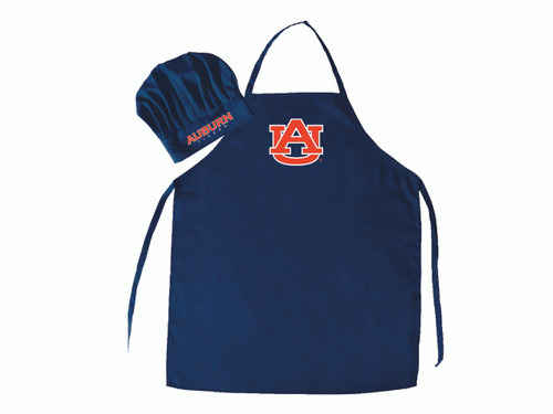Auburn Tigers Apron and Chef Hat Set