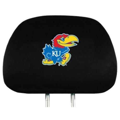 Kansas Jayhawks Headrest Covers