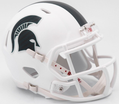 Michigan State Spartans Helmet Riddell Replica Full Size Speed Style 2017 Alternate