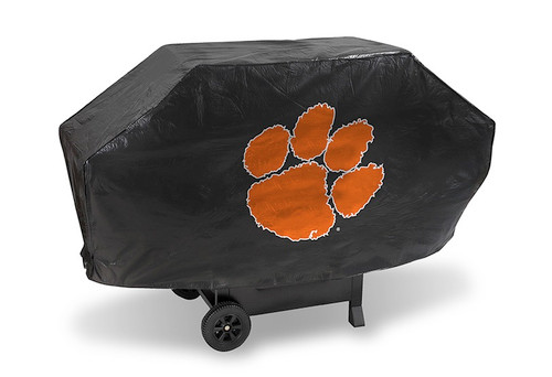 Clemson Tigers Grill Cover Deluxe