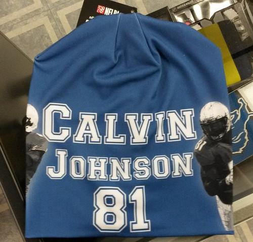 Detroit Lions Beanie Lightweight Calvin Johnson Design
