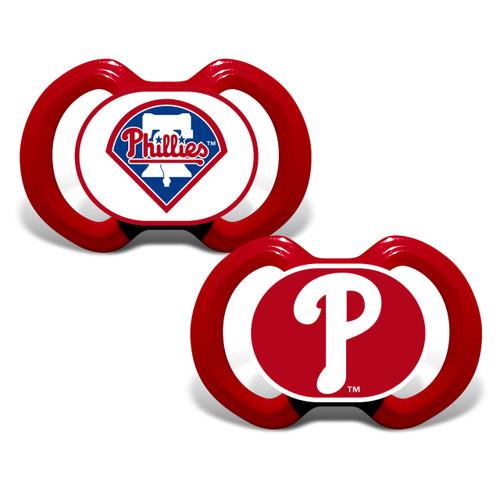 Philadelphia Phillies Pacifier 2 Pack