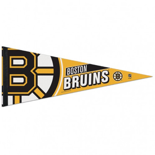 Boston Bruins Pennant 12x30 Premium Style