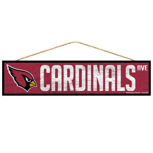 Arizona Cardinals Sign 4x17 Wood Avenue Design