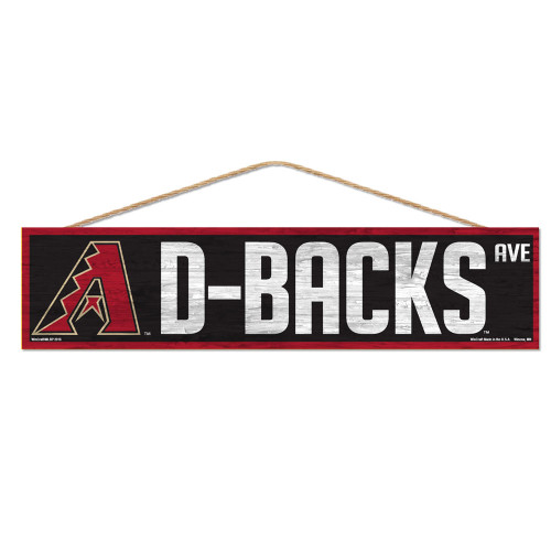 Arizona Diamondbacks Sign 4x17 Wood Avenue Design