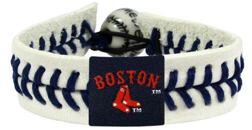 Boston Red Sox Bracelet Boston And Sox Logo Genuine Baseball