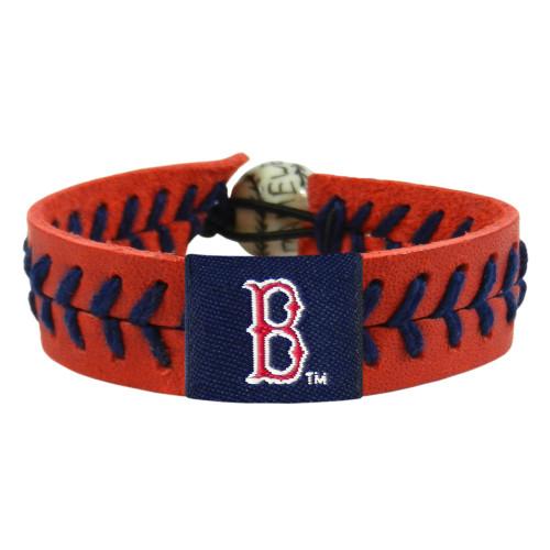 Boston Red Sox Bracelet Team Color Baseball