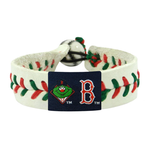 Boston Red Sox Bracelet Baseball Wally Mascot Christmas
