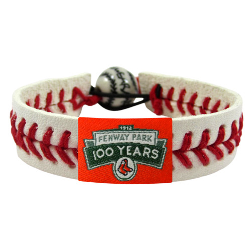 Boston Red Sox Bracelet Baseball Fenway 100 Year