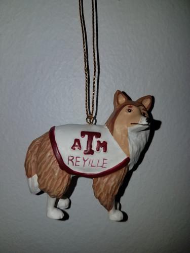 Texas A&M Aggies Mascot Figurine