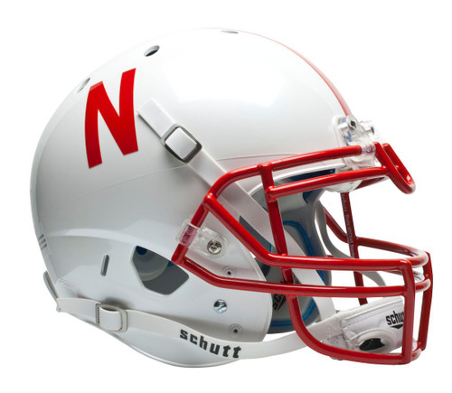 Nebraska Cornhuskers Schutt Authentic Full Size Helmet
