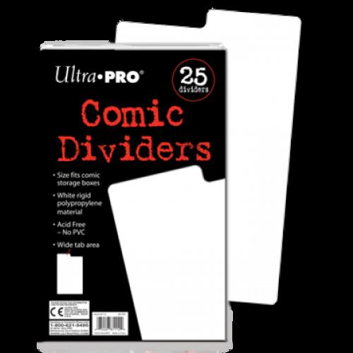 Comic Storage Dividers (25 per pack)