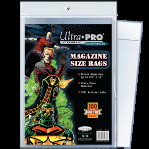 Comic Bags - Magazine (100 per pack)