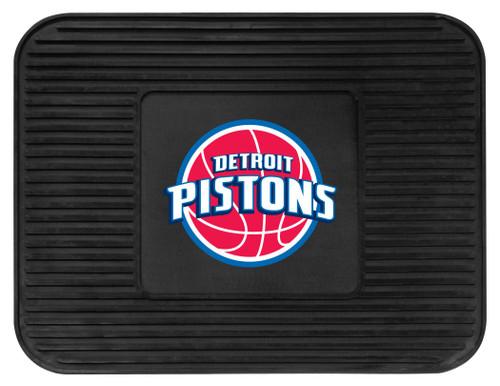 Detroit Pistons Car Mat Heavy Duty Vinyl Rear Seat