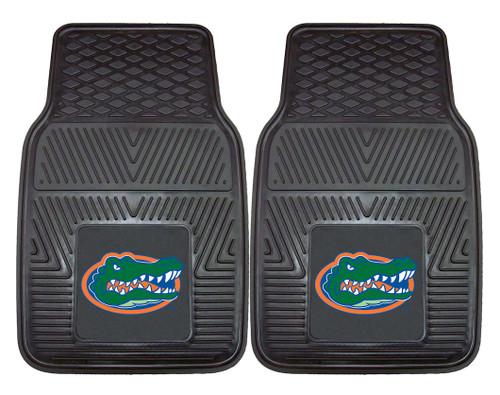 Florida Gators Heavy Duty 2-Piece Vinyl Car Mats