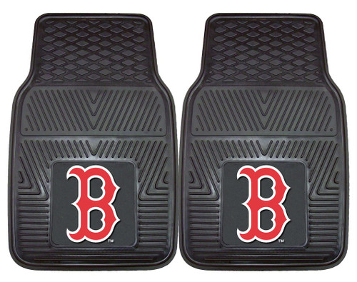 Boston Red Sox Heavy Duty 2-Piece Vinyl Car Mats