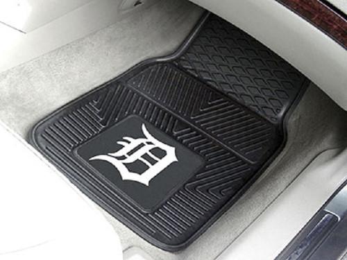 Detroit Tigers Heavy Duty 2-Piece Vinyl Car Mats