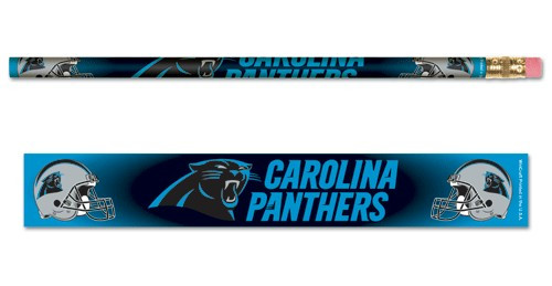Carolina Panthers Pencil 6 Pack