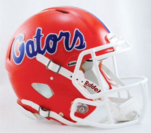 Florida Gators Helmet Riddell Authentic Full Size Speed Style