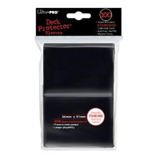 Deck Protector - Black Standard (100 per pack)