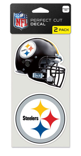 Pittsburgh Steelers Set of 2 Die Cut Decals