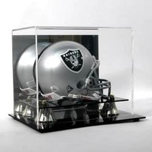 Deluxe Acrylic Mini Football Helmet Display Case