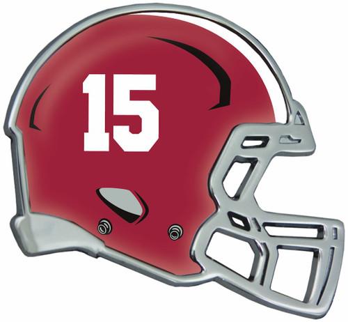 Alabama Crimson Tide Auto Emblem - Helmet