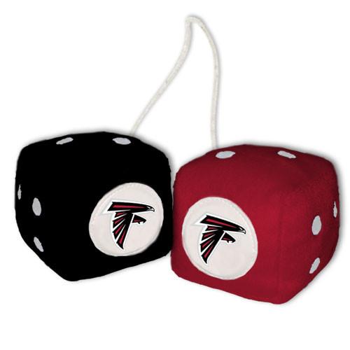 Atlanta Falcons Fuzzy Dice