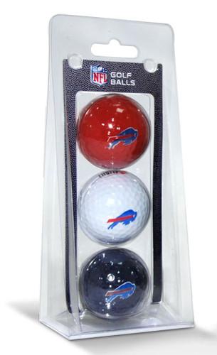 Buffalo Bills 3 Pack of Golf Balls