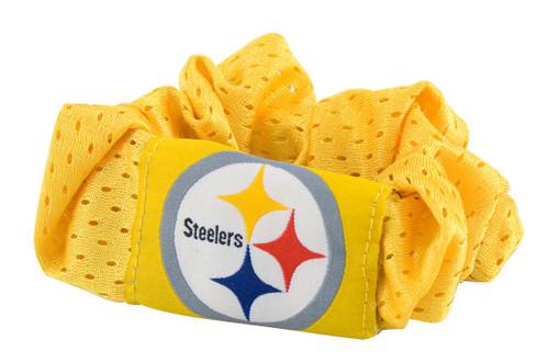 Pittsburgh Steelers Hair Twist Ponytail Holder - Gold