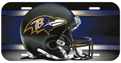 Baltimore Ravens License Plate
