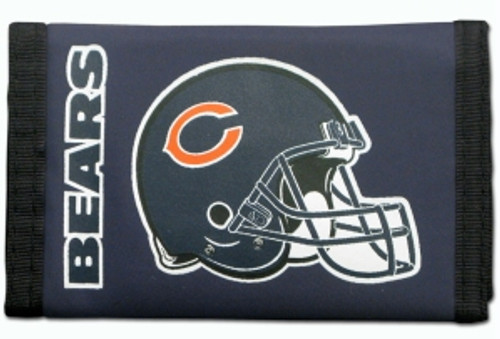 Chicago Bears Wallet Nylon Trifold