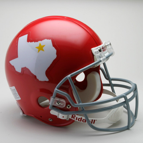 Dallas Texans Helmet Riddell Authentic Full Size VSR4 Style 1960-1962 Throwback