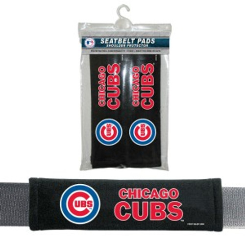 Chicago Cubs Seat Belt Pads Velour
