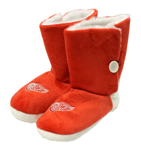 Detroit Red Wings Slippers - Womens Boot
