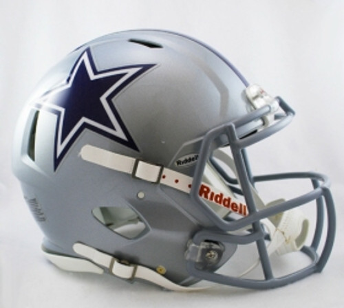 Dallas Cowboys Helmet Riddell Authentic Full Size Speed Style